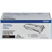 Brother TN-850 Toner Cartridge, High Yield Black