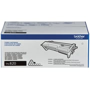 Brother Genuine TN820 Black Original Laser Toner Cartridge