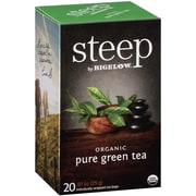 Steep by Bigelow Organic Pure Green Tea, 20/Bx