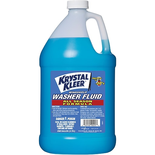 Krystal Kleer Windshield Washer Fluid 1 Gallon Staples