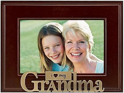 Malden Heart Brass Word Frame-Grandma