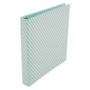 "Office by Martha Stewart™ 1"" Binder, 3-Ring, Printed Stripes (28797)"