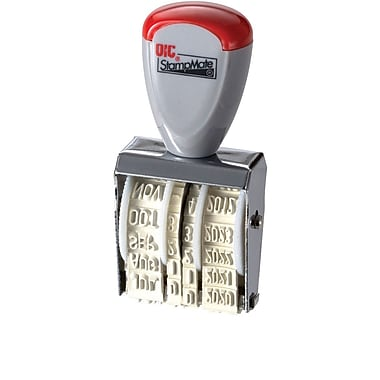 OIC Stampmate® Line Dater, Type #1 1/2, Size 5/32