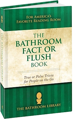 The Bathroom Fact or Flush Book