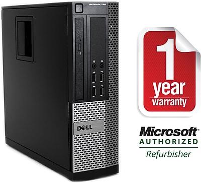 Refurbished Dell 790 SFF CORE i5-3.1GHz, 4GB Mem, 1TB HD, DVDRWDrive w/ Windows 10 Professional 64bit