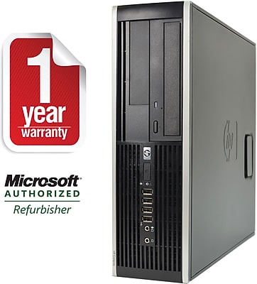 Refurbished HP 6305 SFF Desktop AMD A4 3.4Ghz 8GB RAM 1TB HDD Windows 10 Pro