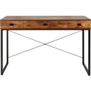 Staples Hunstone Writing Desk, Rustic Cherry