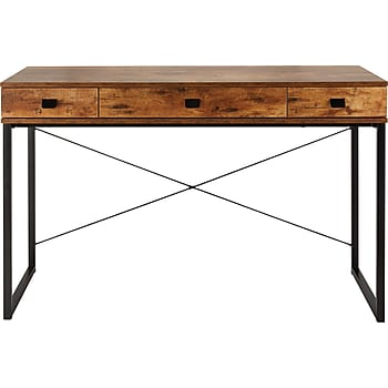 Staples Hunstone Writing Desk (Rustic Cherry)