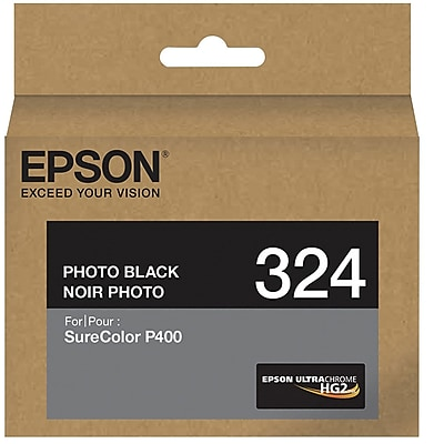 Epson 324 UltraChrome HG2 Photo Black Ink Cartridge (T324120)