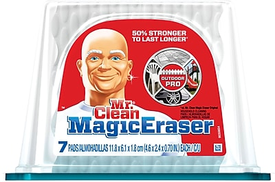 Mr. Clean® Magic Eraser Outdoor Pro, 7/Pack