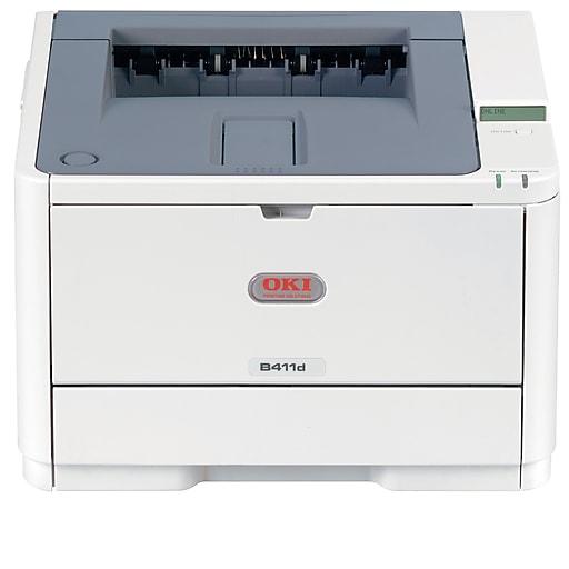 OKI B411d Digital Mono Laser Printer Beige (OKI62435301)