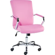 Staples Redden Luxura Managers Chair, Pink