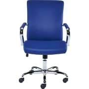 Staples Redden Luxura Managers Chair, Blue