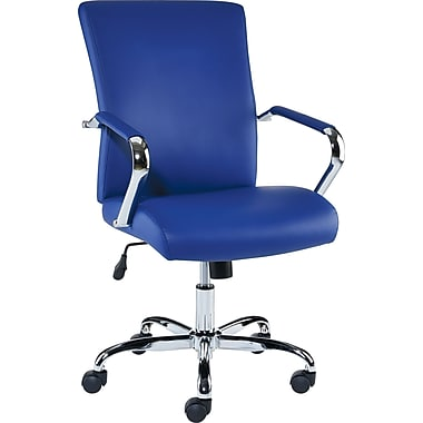 staples redden luxura managers chair, blue | staples®