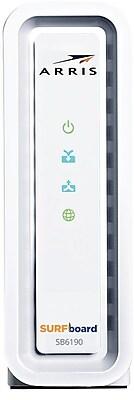 ARRIS SURFboard SB6190 DOCSIS 3.0 Cable Modem- White