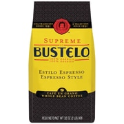 Cafe Bustelo® Supreme Espresso Style Whole Bean Coffee, 32 oz. Bag