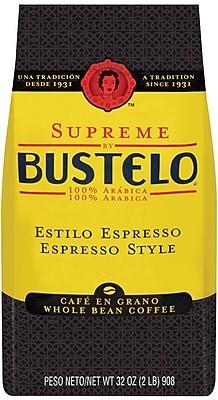 Cafe Bustelo® Supreme Espresso Style Whole Bean Coffee, 32 oz. Bag