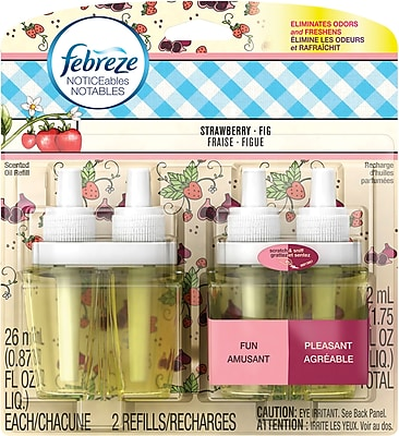 Febreze Noticeables Dual Scented Oil Air Freshener