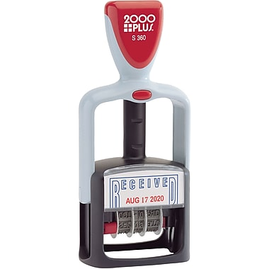 2000 PLUS® Self-Inking Two-Color Dater,