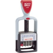 "2000 PLUS® Self-Inking Two-Color Dater, ""Received"""