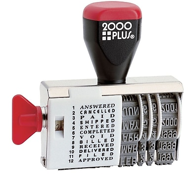 2000PLUS® Dial-N-Stamp, Traditional Date & Message Stamp