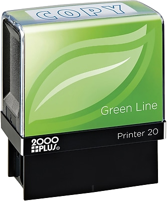 2000 PLUS® Green Line Message Stamps,