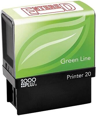 2000 PLUS® Green Line Self-inking Stamp,