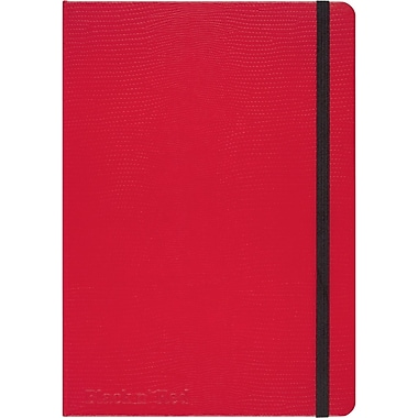 """RED by Black n' Red™ Hard Cover Business Notebook 71 Sheets A5 8-1/4""""x 5-3/4"""" Red (400065003)"""