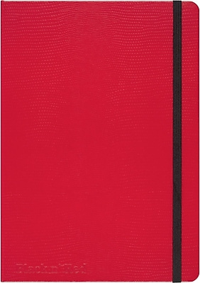 "RED by Black n' Red™ Hard Cover Business Notebook 71 Sheets A5 8-1/4""x 5-3/4"" Red (400065003)"