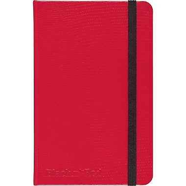 """RED by Black n' Red™ Hard Cover Business Notebook 71 Sheets A6 5-1/2""""x 3-1/2"""