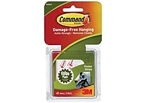 Command™ Poster Strips Value Pack, White, 48/Pack (17024-48ES)
