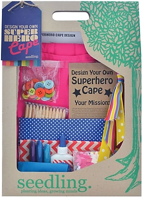 Seedling Design Your Own SuperHero Cape - Pink