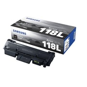 Samsung Black Toner Cartridge (MLT-D118L/XAA), High Yield