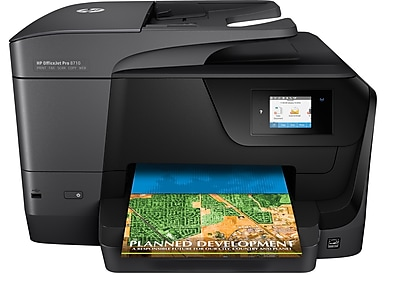 hp officejet pro 8710 all in one inkjet printer staples rh staples com HP Color Copy Machines Xerox Color Copiers