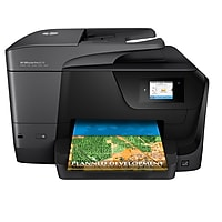 HP OfficeJet Pro 8710 Wireless Inkjet All-in-One Printer with Duplex (Black) + $30 Gift Card