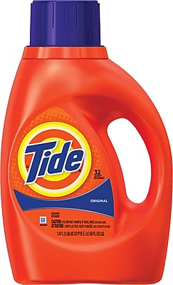 Tide® Liquid 2X Concentrated Laundry Detergent, Original, 50 fl oz.