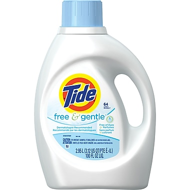 Tide® Free & Gentle 2x Concentrated Laundry Detergent, 100 fl. oz