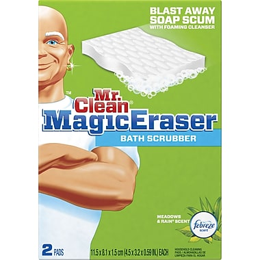 Mr. Clean® Magic Eraser Bath Scrubber, 2/Pack