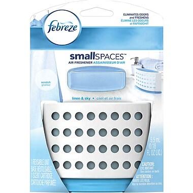 Febreze SmallSpaces Linen & Sky Starter Kit Air Freshener (1 Count, 5.5 mL)