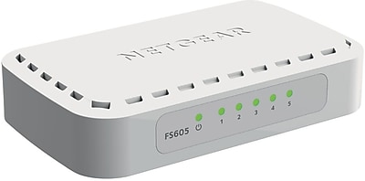 NETGEAR FS605 5-Port Fast Ethernet Switch
