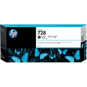 HP 728 300-ml Matte Black DesignJet Ink Cartridge (F9J68A)