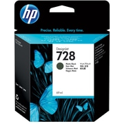 HP 728 69-ml Matte Black DesignJet Ink Cartridge (F9J64A)
