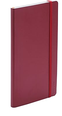 Poppin Crimson Medium Softcover Notebooks, Set of 25