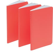Poppin Coral Mini Notebooks, Set of 50