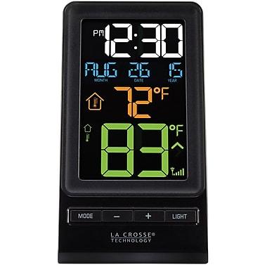 La Crosse Technology 308-1415 Digital Multi-Color LCD Wireless Thermometer