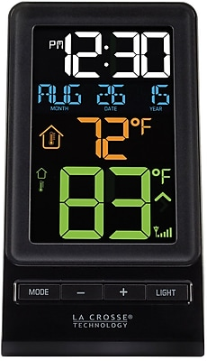 La Crosse Technology Digital Multi-Color LCD Wireless Thermometer (308-1415)