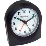 Westclox BLACK QUARTZ ALARM CLOCK