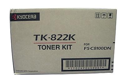 Kyocera TK822K Black Toner Cartridge