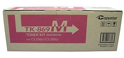 Kyocera TK869M Magenta Toner Cartridge
