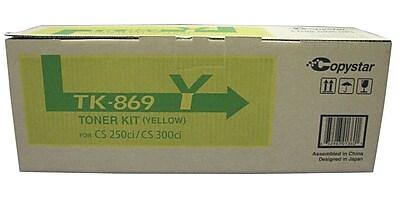 Kyocera TK869Y Yellow Toner Cartridge